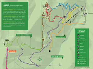 Trails Maps Foys To Blacktail Trails